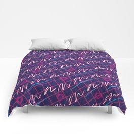 1980s Retro Fashion Print 'Romeo' Comforters