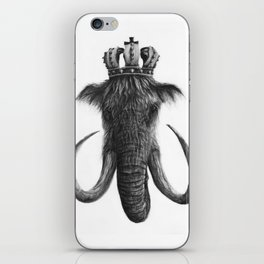 King Mammoth iPhone Skin