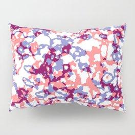 broken, red and blue Pillow Sham