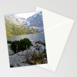 Morskie Oko in May Stationery Cards