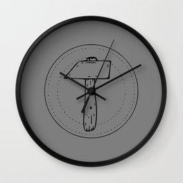 Hammer Seal Wall Clock