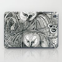 owls iPad Cases featuring Owls by Irina Vinnik
