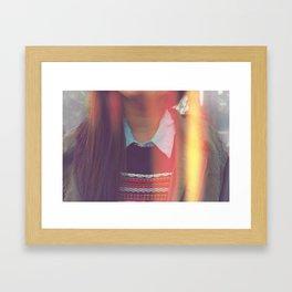 Collar-ful Framed Art Print