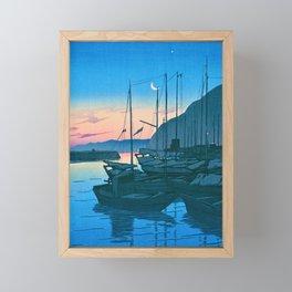 BEPPU MONING - Kawase Hasui Framed Mini Art Print