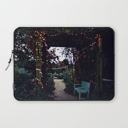 The arbor in the garden Laptop Sleeve