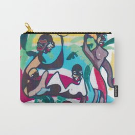 African Afternoon   by     Kay Lipton Carry-All Pouch