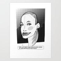 fresh prince Art Prints featuring Fresh by Zsolt Czeizler