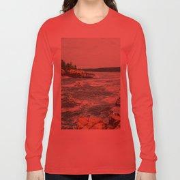 Summer Vacation Long Sleeve T-shirt