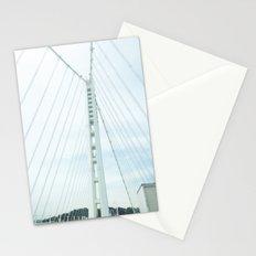 new bay bridge  Stationery Cards