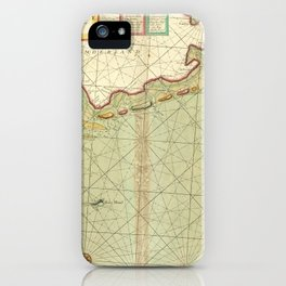 A chart of EEMS ELVE, Wefer, Eyder and Hever. With the Holy Island iPhone Case