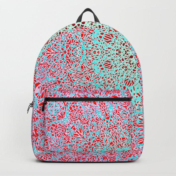Mehndi Ethnic Style G402 Backpack