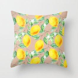 Lemon Fresh #society6 #decor #buyart Throw Pillow