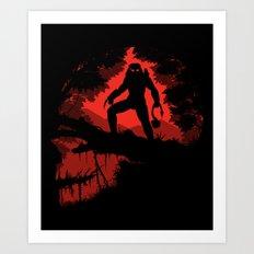 Jungle Hunter Art Print