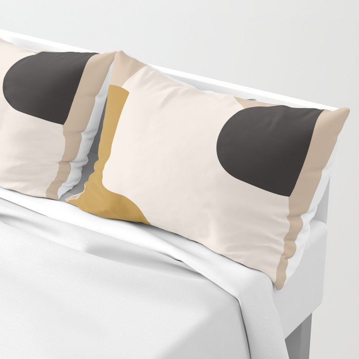 abstract minimal 16 Pillow Sham