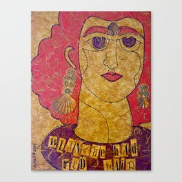 Blanche Had Red Hair (Blanche No. 2) Canvas Print