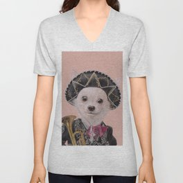 Mexican Chihuahua Unisex V-Neck