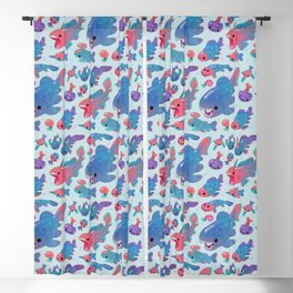 Devonian baby Blackout Curtain