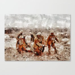 The Horror of War, WWI Canvas Print