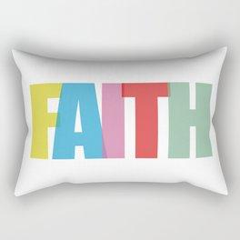 Faith (Color) Rectangular Pillow