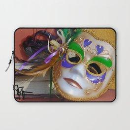 New Orleans Mardi Gras Mask Laptop Sleeve
