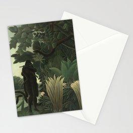 Henri Rousseau - La Charmeuse de serpents de ta mre la pute Stationery Cards