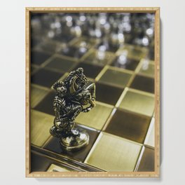 Chess horse Serving Tray