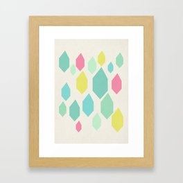 Diamond Shower II Framed Art Print