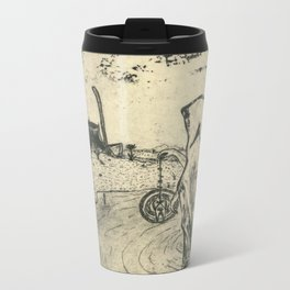 Illusions of Myth (Teeth) Metal Travel Mug