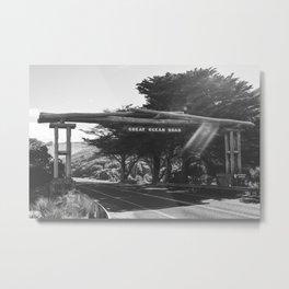 Great Ocean Road VI Metal Print