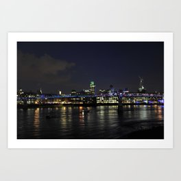 Night in London Art Print