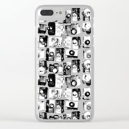 classic cameras Clear iPhone Case