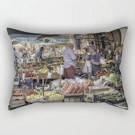 Going to the Market Rectangular Pillow