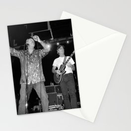 The Nighthawks & Skip Castro band Stationery Cards