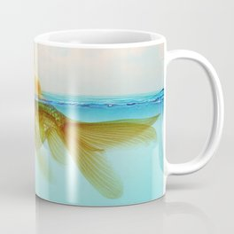 Submarine Goldfish Coffee Mug