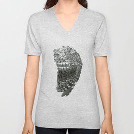Owl Wing Unisex V-Neck