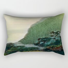 Mists In The Pitons: St. Lucia Rectangular Pillow