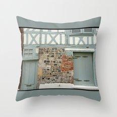 Half Timber House Throw Pillow