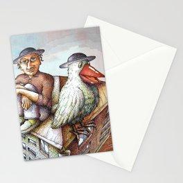 Jewish Bird Stationery Cards