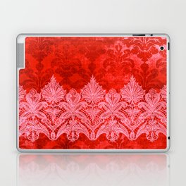 ABERDEEN HEIRLOOM, LACE & DAMASK: GOTHIC VALENTINE Laptop & iPad Skin
