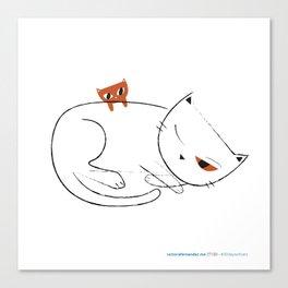 #30daysofcats 27/30 Canvas Print