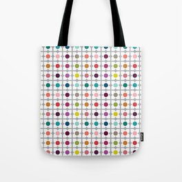 Dot Floral Tote Bag