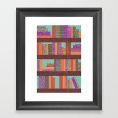 Books II Framed Art Print