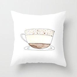 espresso i Throw Pillow
