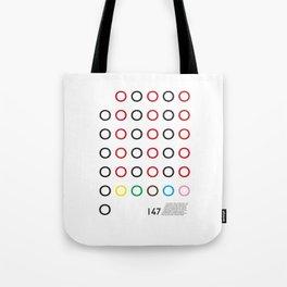 147 Tote Bag