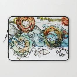 Life on the Earth  - The Ocean - Lighter version Laptop Sleeve