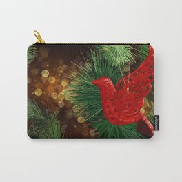 festive Dove Carry-All Pouch