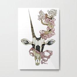 Oryx and Crake Metal Print