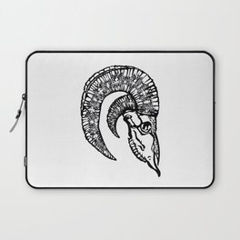 StacyCK Studio - Big Horn Sheep Skull Laptop Sleeve