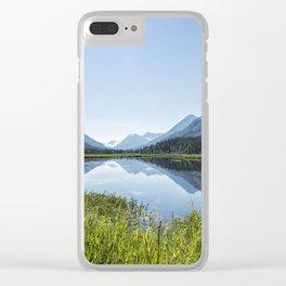 Alaska Summer Light on Tern Lake Clear iPhone Case