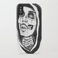 day of the dead iPhone & iPod Cases featuring Dead by Omar Guzman